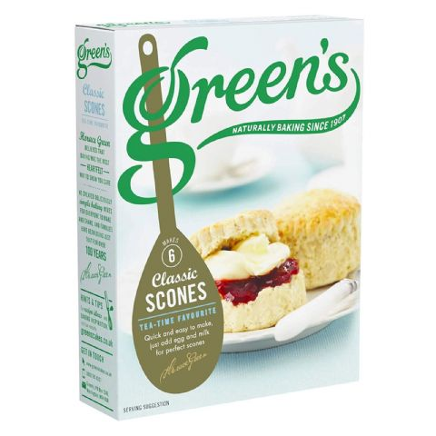 Tea-Time Classic Scones Mix Green's 280g